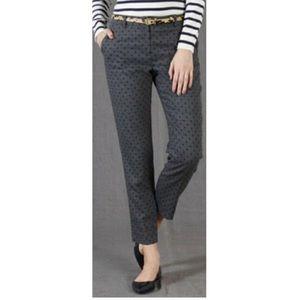Boden Pants - Boden bistro crop wool polka dot pants